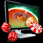 Geld storten en roulette spelen